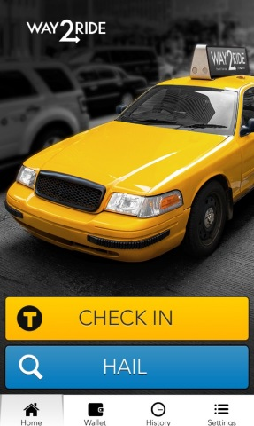 Need a Cab? Hail the Largest Network of Taxis in New York City with Way2ride™ (Graphic: Business Wire)