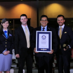 Viejas Casino & Resort sets new Guinness World Record for Largest Champagne Tasting. (Photo: Business Wire)