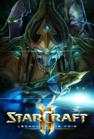 Legacy of the Void is the epic third installment in Blizzard Entertainment's iconic StarCraft II real-time strategy series. (Graphic: Business Wire)
