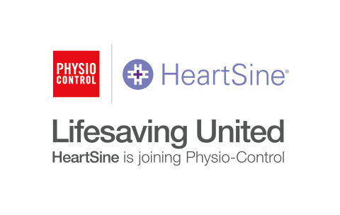 Physio-Control has reached an agreement with HeartSine Technologies to acquire the Northern Ireland-based automated external defibrillator (AED) manufacturer, the companies announced today. The combination creates one of the world's largest AED solutions providers. (Graphic: Business Wire)