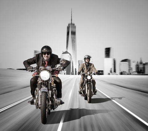 "MotorradreifenDirekt.de is supporting the international motorbike event ""Distinguished Gentleman's R ..."