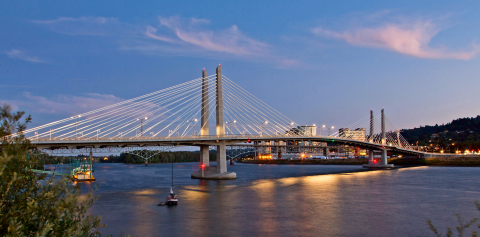 Tilikum Crossing, Bridge of the People. Photo credit: Tom Paiva Photography