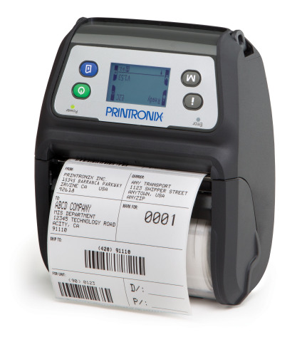 Printronix M4L2 Mobile Barcode Printer (Photo: Business Wire)