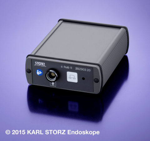 The KARL STORZ C-HUB® II Control Unit offers true plug-and-play functionality in integrated operating rooms as well as office-based environments. (Photo: Business Wire)
