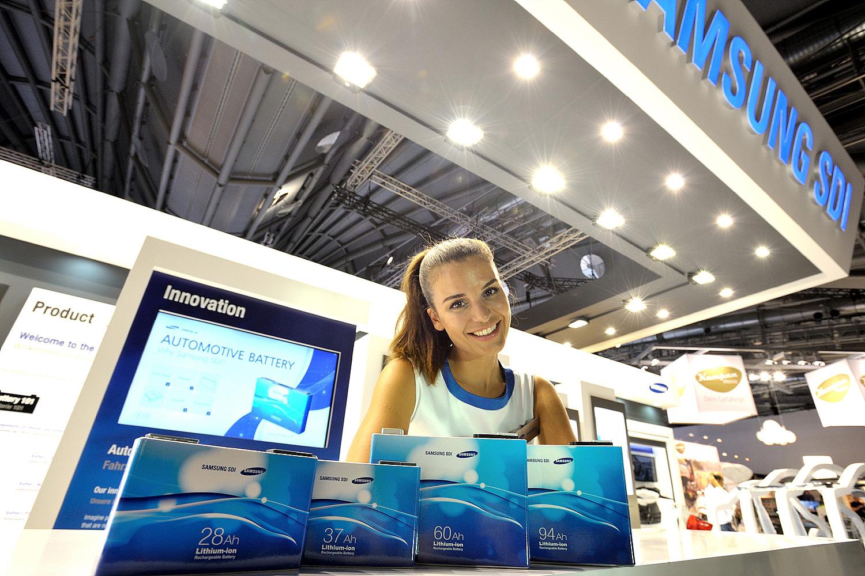 Samsung Sdi Opens Ev Battery Plant In China