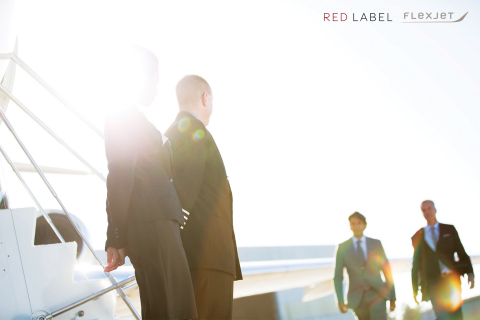 """Among the most pioneering features available only through Red Label by Flexjet are flight crews dedicated to a single aircraft. Red Label's """"One Flight Crew, One Aircraft"""" model, under which one crew is assigned to fly a single Flexjet aircraft, is a completely new take on aircraft crewing under the fractional model. (Photo: Business Wire)"""