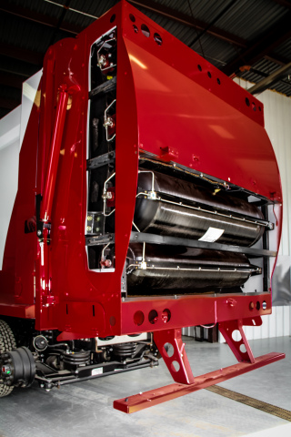 McNeilus will exclusively use Luxfer carbon composite cylinders for its new NGEN Tailgate compressed ...