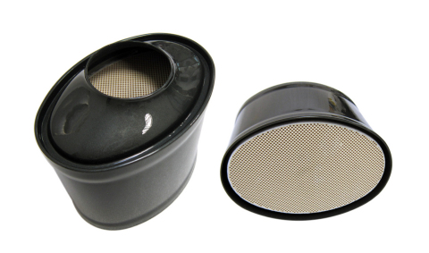 Tenneco's new oval-shaped gasoline particulate filter is designed for gasoline direct injection (GDI ...