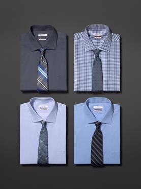 Van heusen introduces flex collar dress shirt featuring for Van heusen shirts flex collar