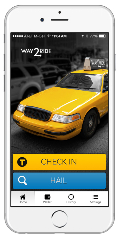 Philadelphia Taxi Riders: Get Ready to Hail Cabs with Way2ride™ (Photo: Business Wire)