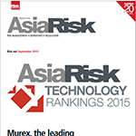 Asia Risk Technology Rankings Results