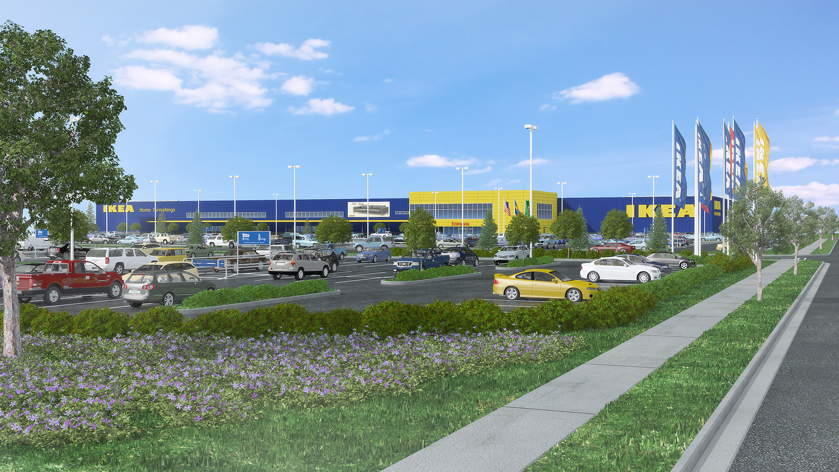 IKEA Begins Demolition of Parking Structure in Renton, WA to
