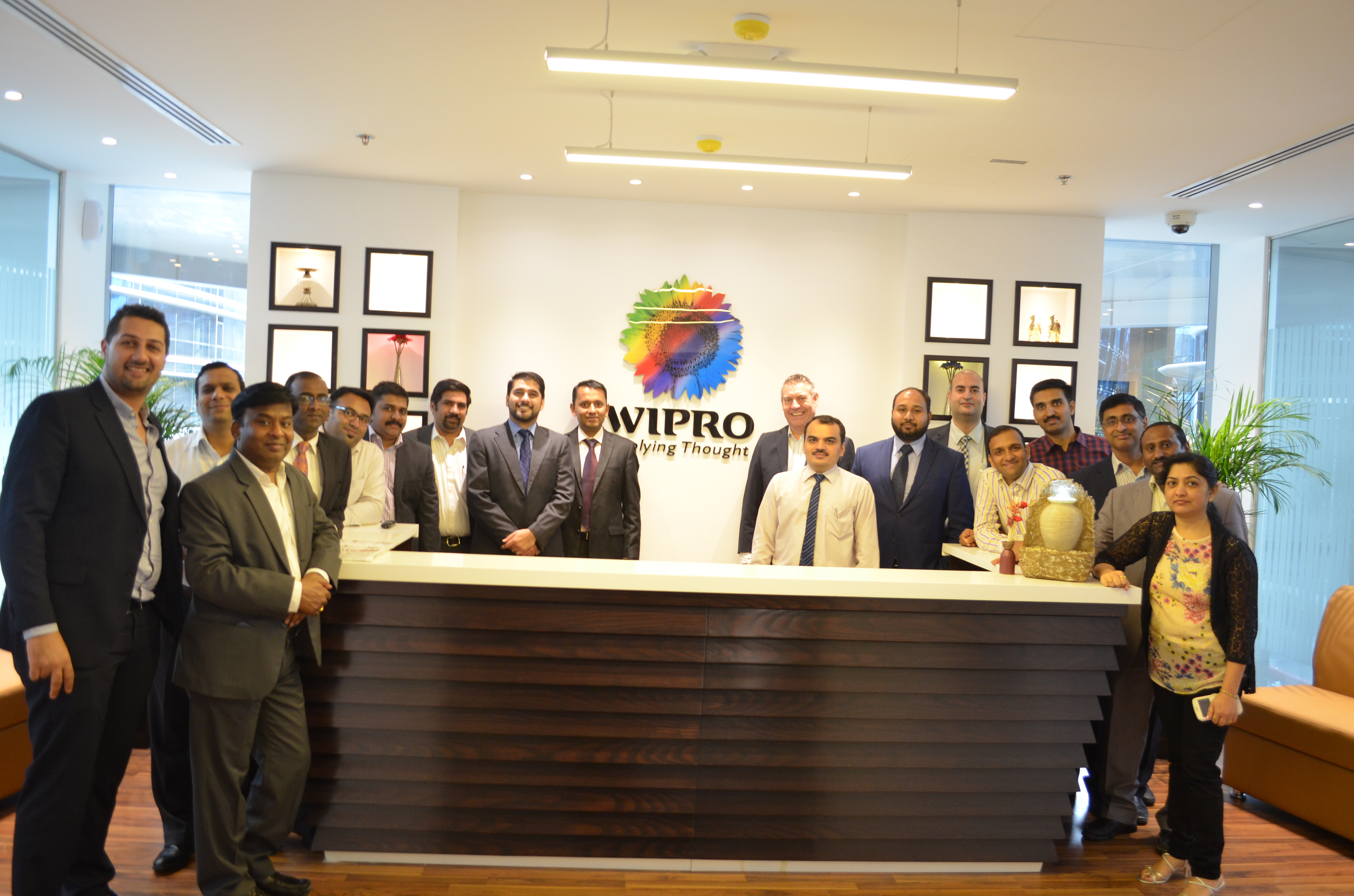 wipro to expand presence in qatar business wire