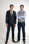 """Cost Plus World Market welcomes Jonathan and Drew Scott, hosts of """"Property Brothers,"""" to its new Framingham store on Sunday, October 4, 2015. (Photo: Business Wire)"""