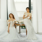 Couture designed Marchesa gowns inspired by St. Regis hotels in Punta Mita and Mumbai (Photo: Business Wire)