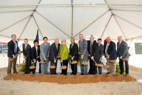 KMA's groundbreaking was attended by local and state officials, including Georgia's Lt. Gov. Casey C ...