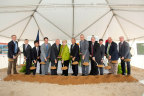 KMA's groundbreaking was attended by local and state officials, including Georgia's Lt. Gov. Casey Cagle, along with Kubota executives and employees. (Photo: Business Wire)