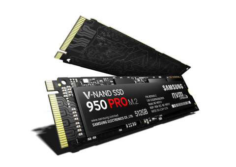 Samsung 950 PRO SSD (Photo: Business Wire)