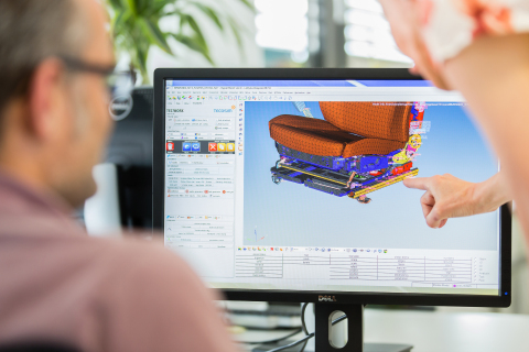 TEC|BENCH provides an exact virtual mapping of the original component or vehicle. (Photo: Business W ...
