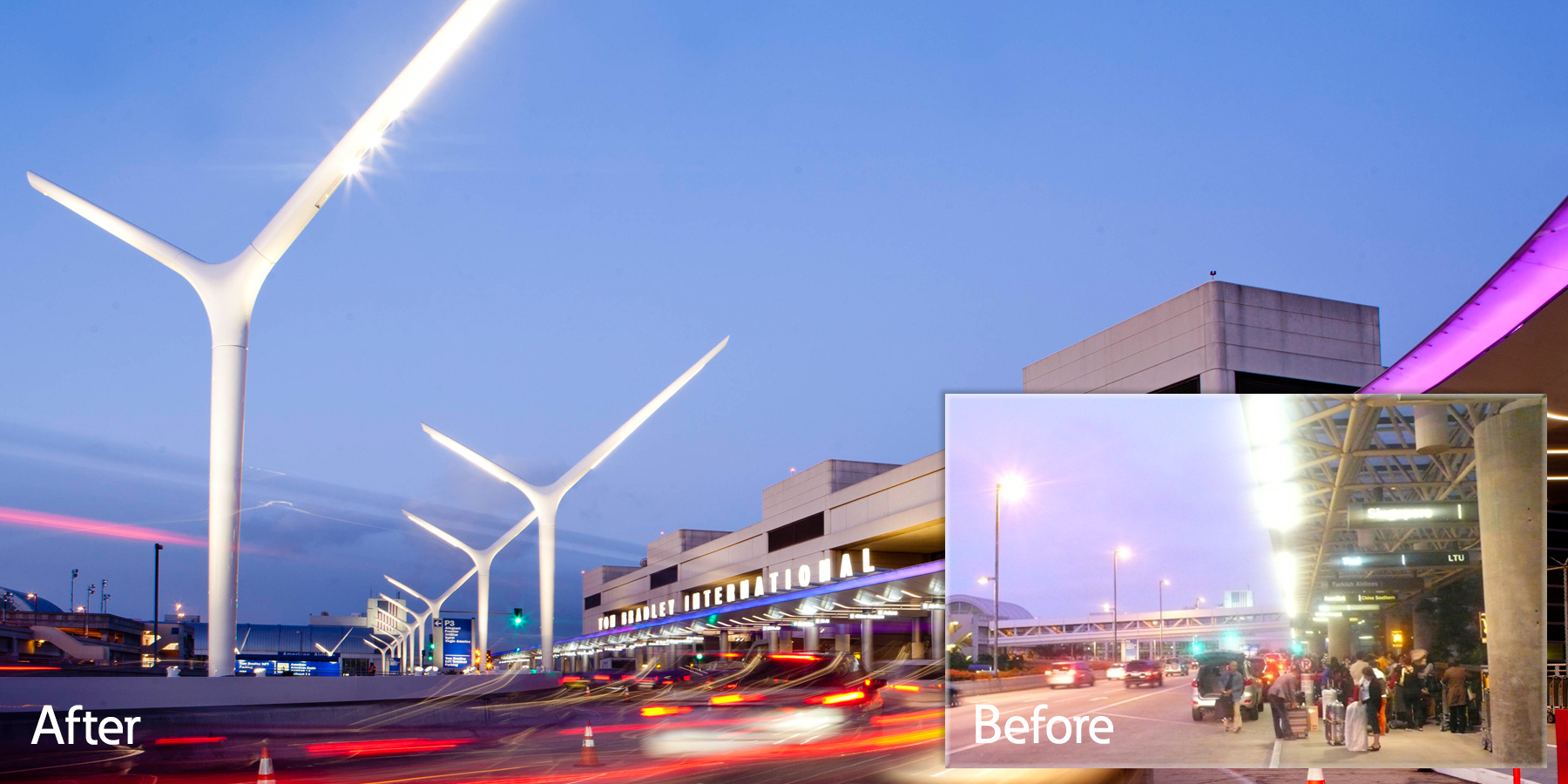 Eaton Solutions Improve Lighting Efficiency and Performance Make Navigating the Los Angeles International Airport Safer and Easier | Business Wire & Eaton Solutions Improve Lighting Efficiency and Performance Make ...