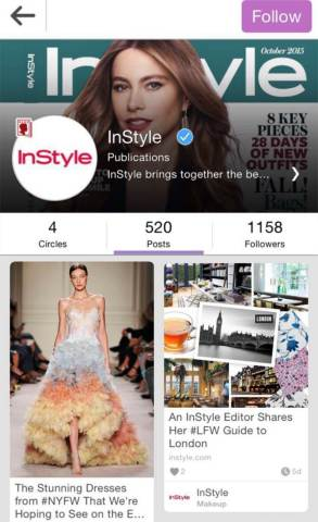 YouCam Makeup Users Can Now Access InStyle Content in Beauty Circle (Graphic: Business Wire)