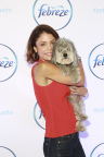 TV personality and entrepreneur Bethenny Frankel and her dog Cookie attend The Febreze® School of #Petiquette on September 25th, 2015 in New York City at the Ace Hotel. The event was held to educate pet owners on the importance of always being guest ready in order to keep their homes pet odor-free and never take the chance of offending their visitors. (Photo by Amy Sussman AP Images)