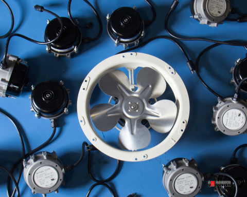 A collection of QM Power's Q-Sync Smart Synchronous Motors (Photo: Business Wire)