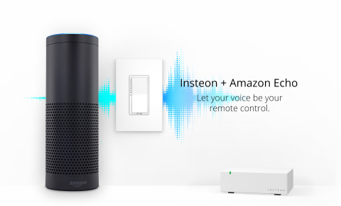 Insteon + Amazon Echo (Graphic: Business Wire)