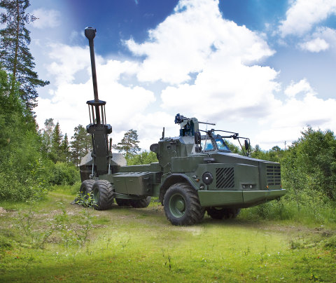 BAE Systems' ARCHER system is one of the world's most advanced artillery systems with high mobility and precision. (Photo: BAE Systems)