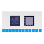 "Toshiba: ARM Cortex-M0 core based microcontroller ""TMPM067FWQG"" with built-in USB device controller (Photo: Business Wire)"