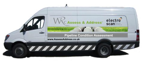 WRc and Electro Scan UK-based low voltage conductivity service van. (Photo: Business Wire)