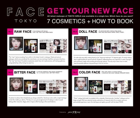 FACE TOKYO_3 (Graphic: Business Wire)