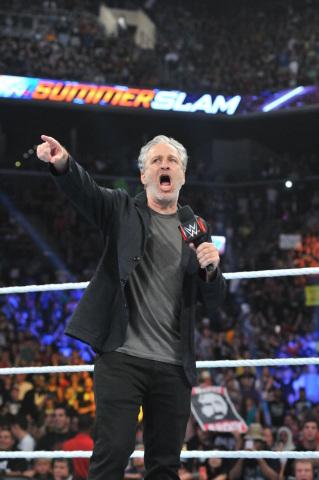Jon Stewart at SummerSlam