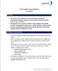 Prostate Cancer Registry Backgrounder (Document: Business Wire)