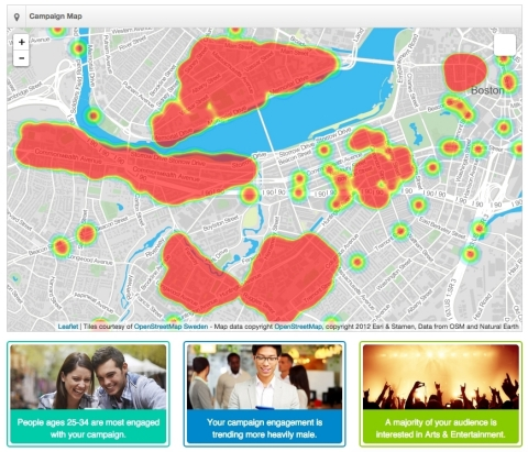 Location intelligence and mobile advertising platform, DropIn. (Graphic: Business Wire)