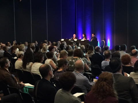 Oraya Therapy symposium at EURETINA 15th Congress (Photo: Business Wire)