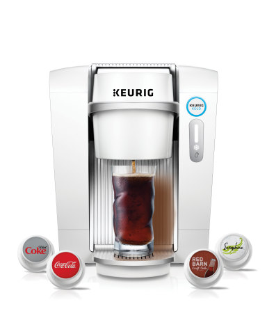 Keurig® KOLD™ - the first personal cold beverage system that offers a wide variety of consumers' fav ...
