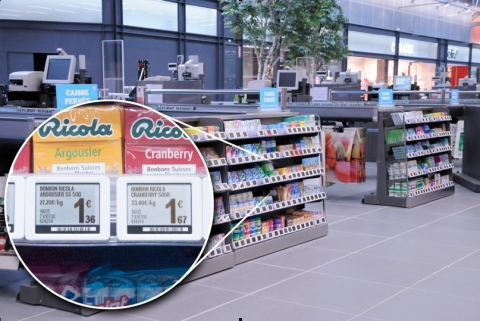 Altierre has shipped more than 10 million graphical digital price tags globally. (Photo: Business Wire)