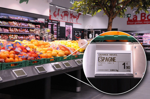 Two million of Altierre's new W line of graphical tags have been installed in France in its first year. (Photo: Business Wire)