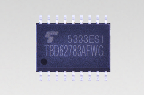 """Toshiba: a new-generation transistor array """"TBD62783AFWG"""" (Photo: Business Wire)"""