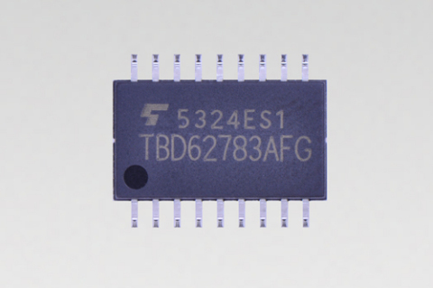"Toshiba: a new-generation transistor array ""TBD62783AFG"" (Photo: Business Wire)"