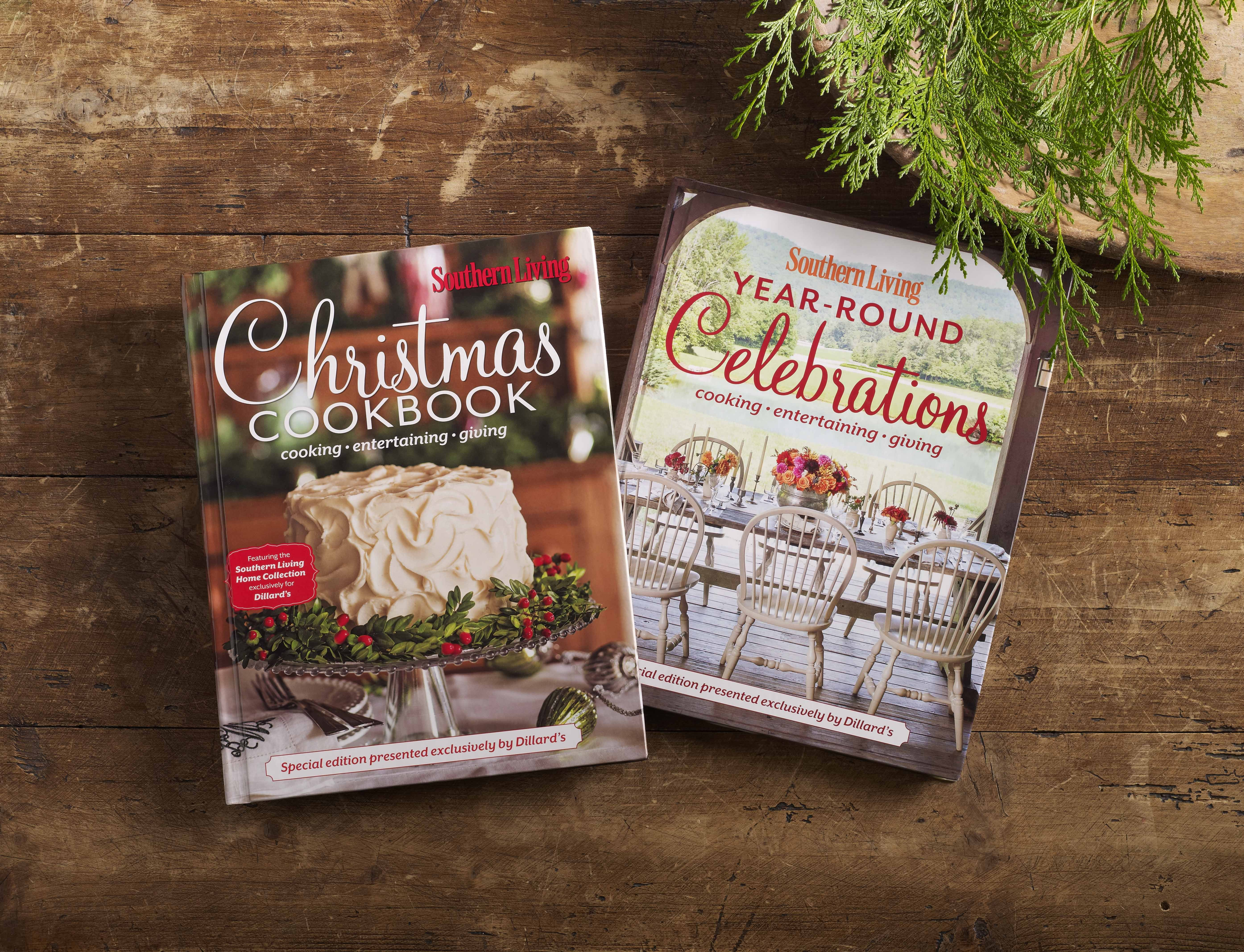 Dillard's Offers Exclusive Southern Living Christmas Cookbook to ...