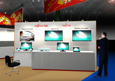 Representation of the Fujitsu Group booth (Photo: Business Wire)