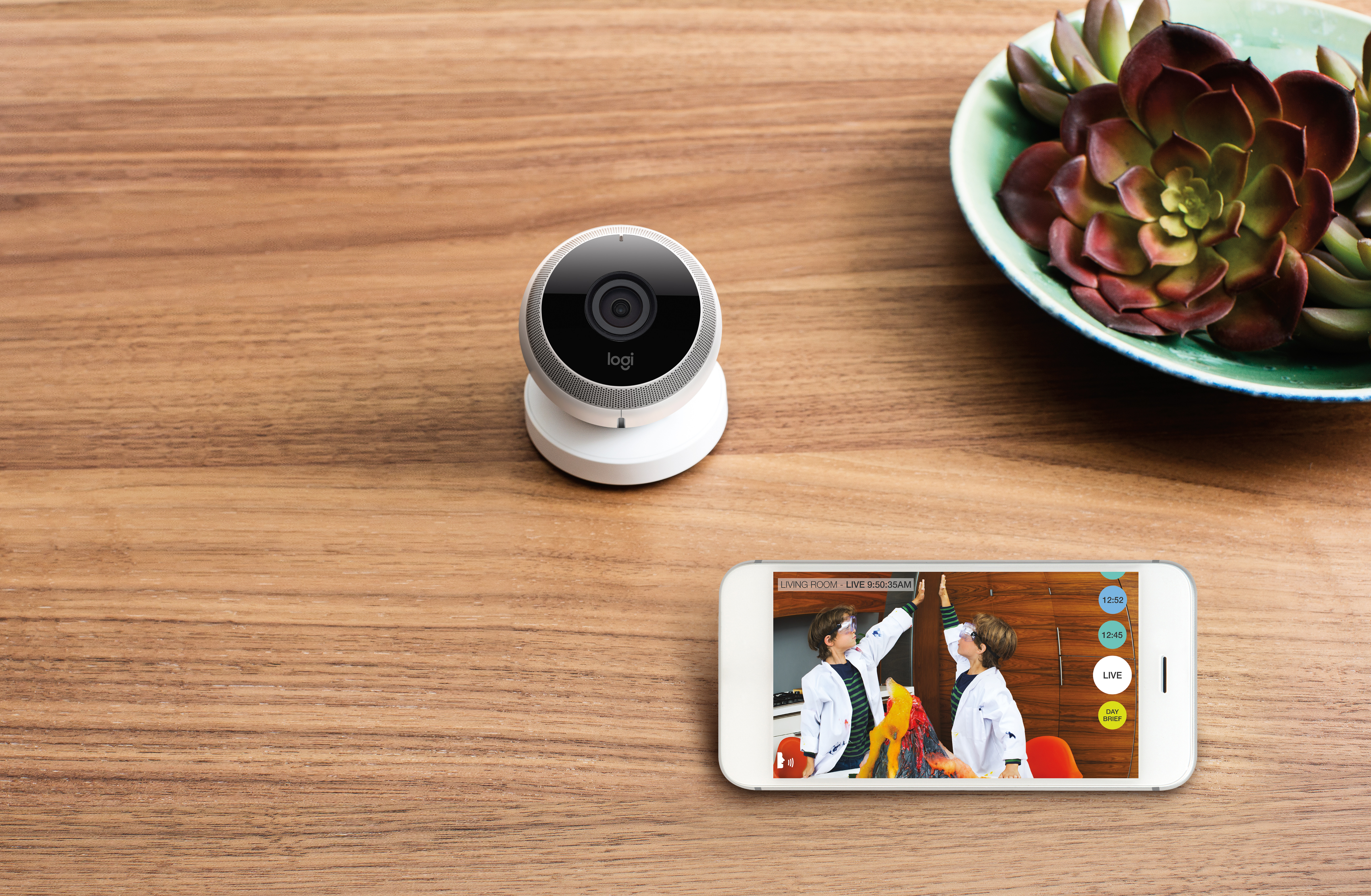 logi circle brings home to your smartphone business wire