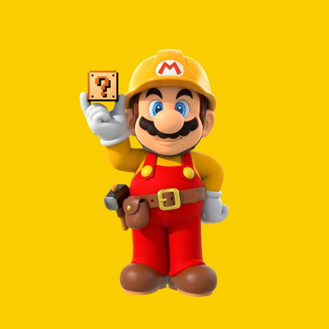 Using the touch screen of the Wii U GamePad controller, Super Mario Maker players can create levels in four different Super Mario game styles. (Photo: Business Wire)