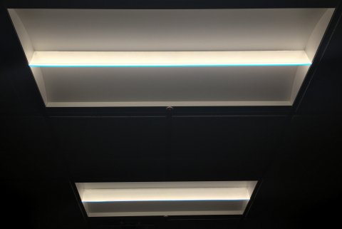 Eaton's LED lighting and controls solutions enhance the lighting performance and aesthetics, while reducing energy consumption by nearly 70 percent at the AEE's corporate headquarters. (Photo: Business Wire)