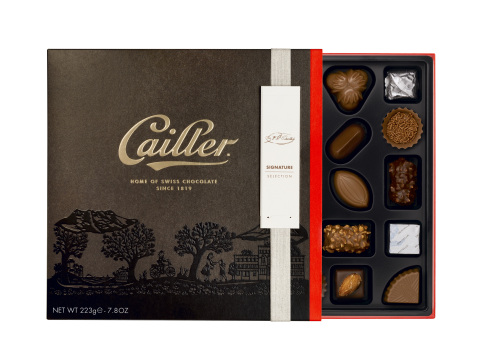 New Cailler Premium Swiss Chocolate Signature Selection Assortment (Photo: Business Wire)