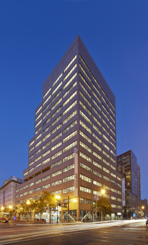 Dolby Laboratories New Headquarters building at 1275 Market Street, San Francisco. (Photo: Business Wire)