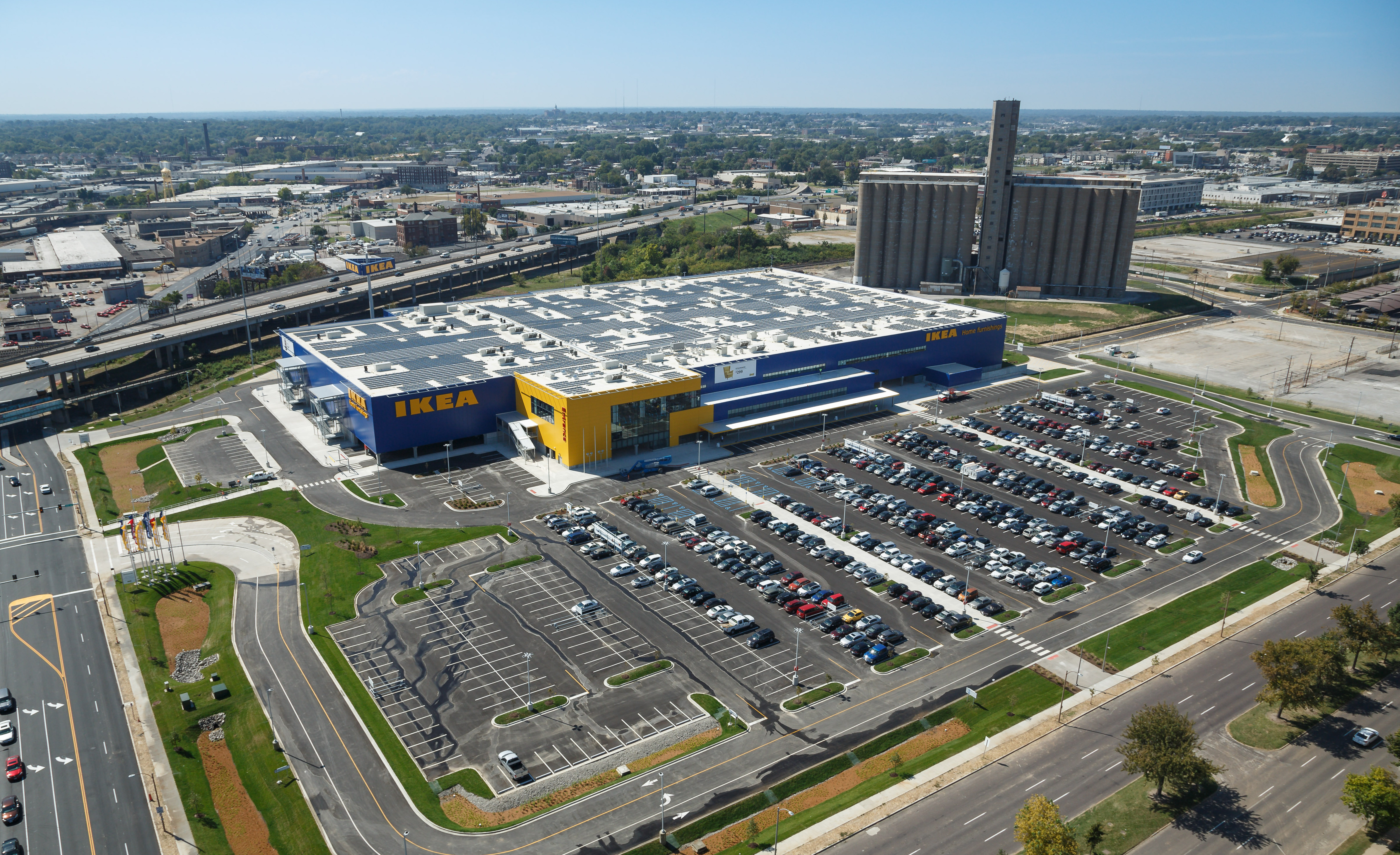 ikea st louis opens in urban setting with jobs