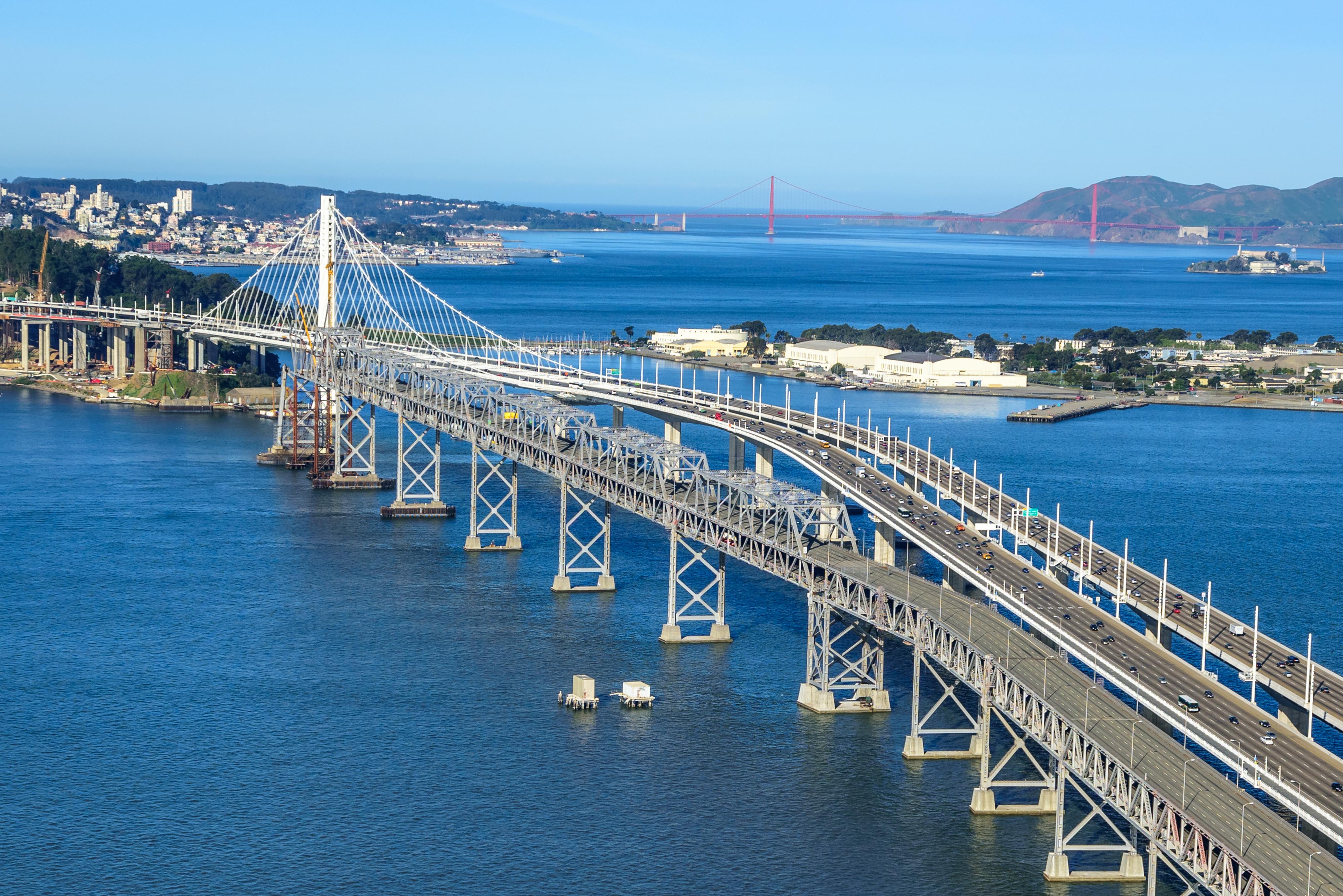 San francisco oakland bay bridge new east span wins international full size sciox Images